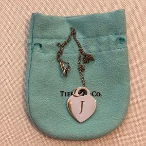 Tiffany Heart Tag Necklace 🥰